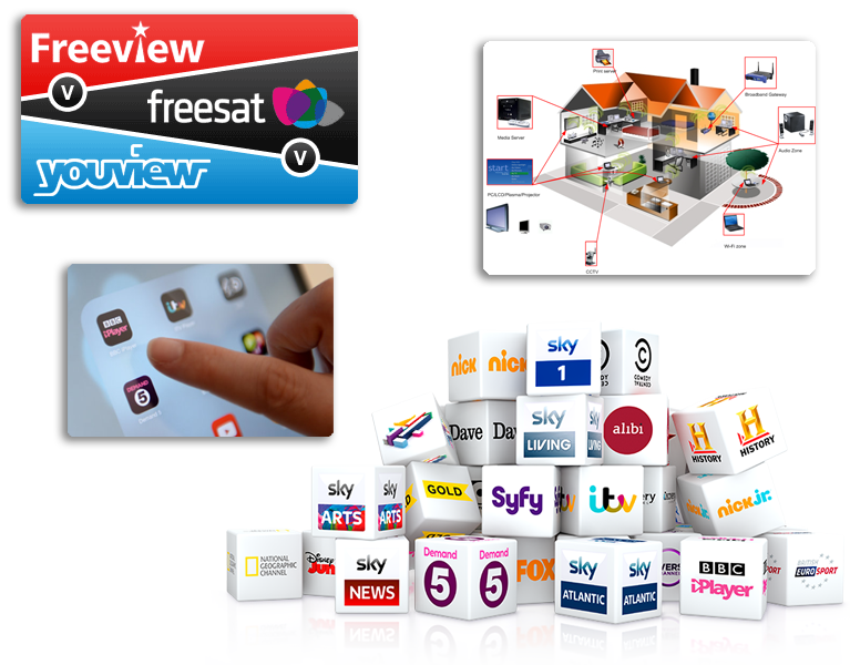 freeview freesat sky youview logos